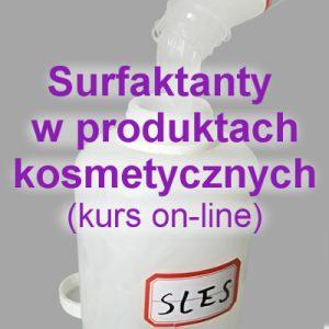 Surfaktanty w produktach kosmetycznych